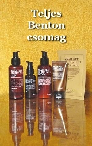 Benton csiga-méh kozmetikumok
